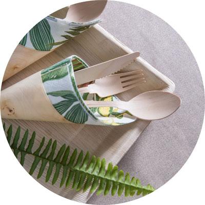 עיצוב שולחן מתכלה ידידותי לסביבה לפסח