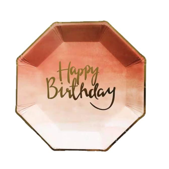 יום הולדת ורוד זהב