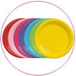 כלים חד פעמיים לפי צבעים