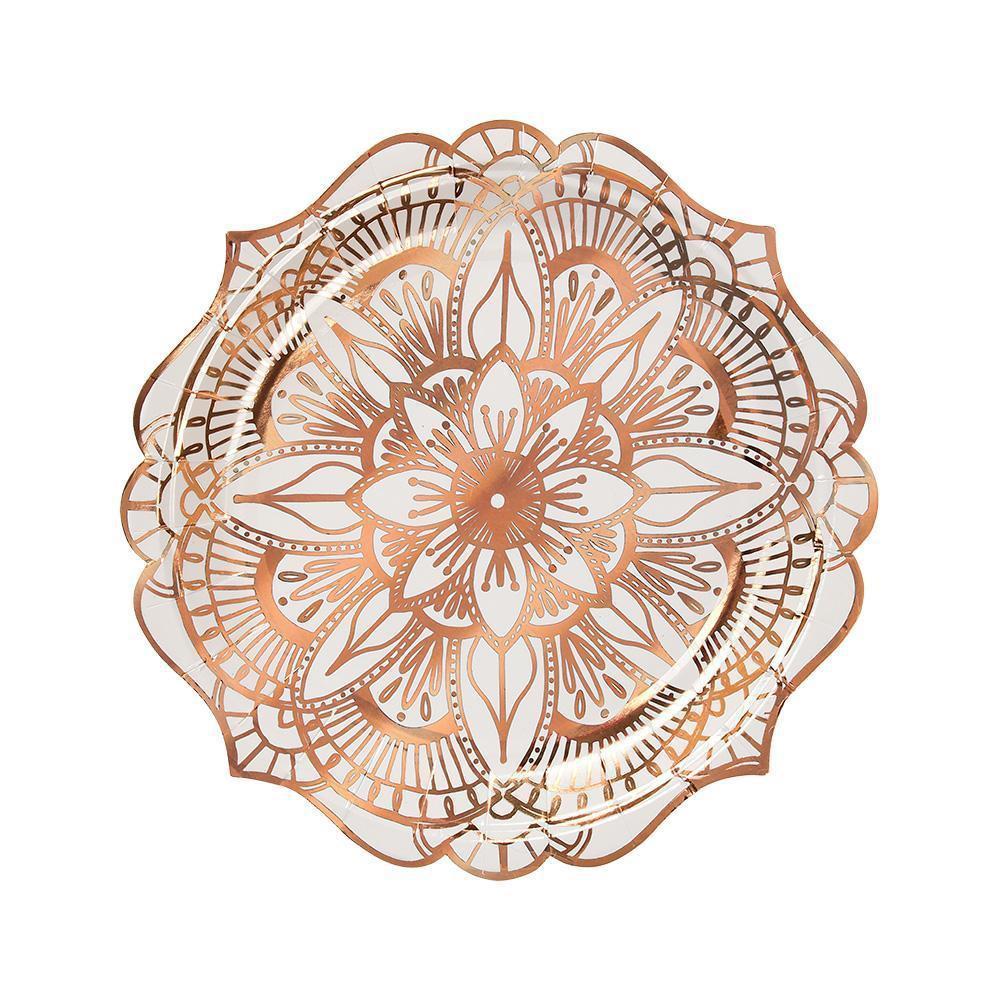 שולחן חנוכה מנדלה Rose Gold