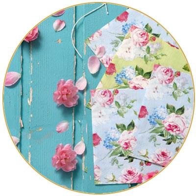 עיצוב שולחן פרחוני אביבי