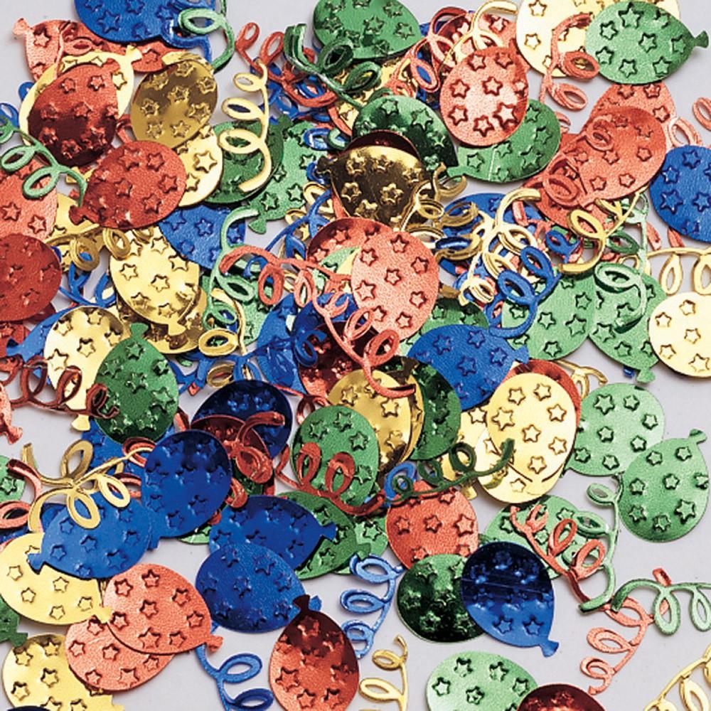 קונפטי בלונים צבעוני