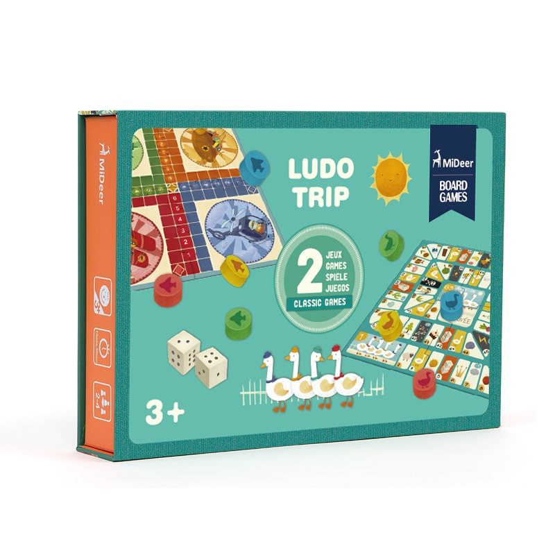 לודו טריפ- שני משחקים בקופסא
