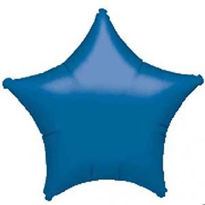בלון אלומיניום כוכב כחול