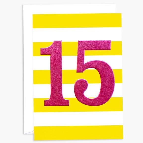 כרטיס ברכה ליום הולדת 15