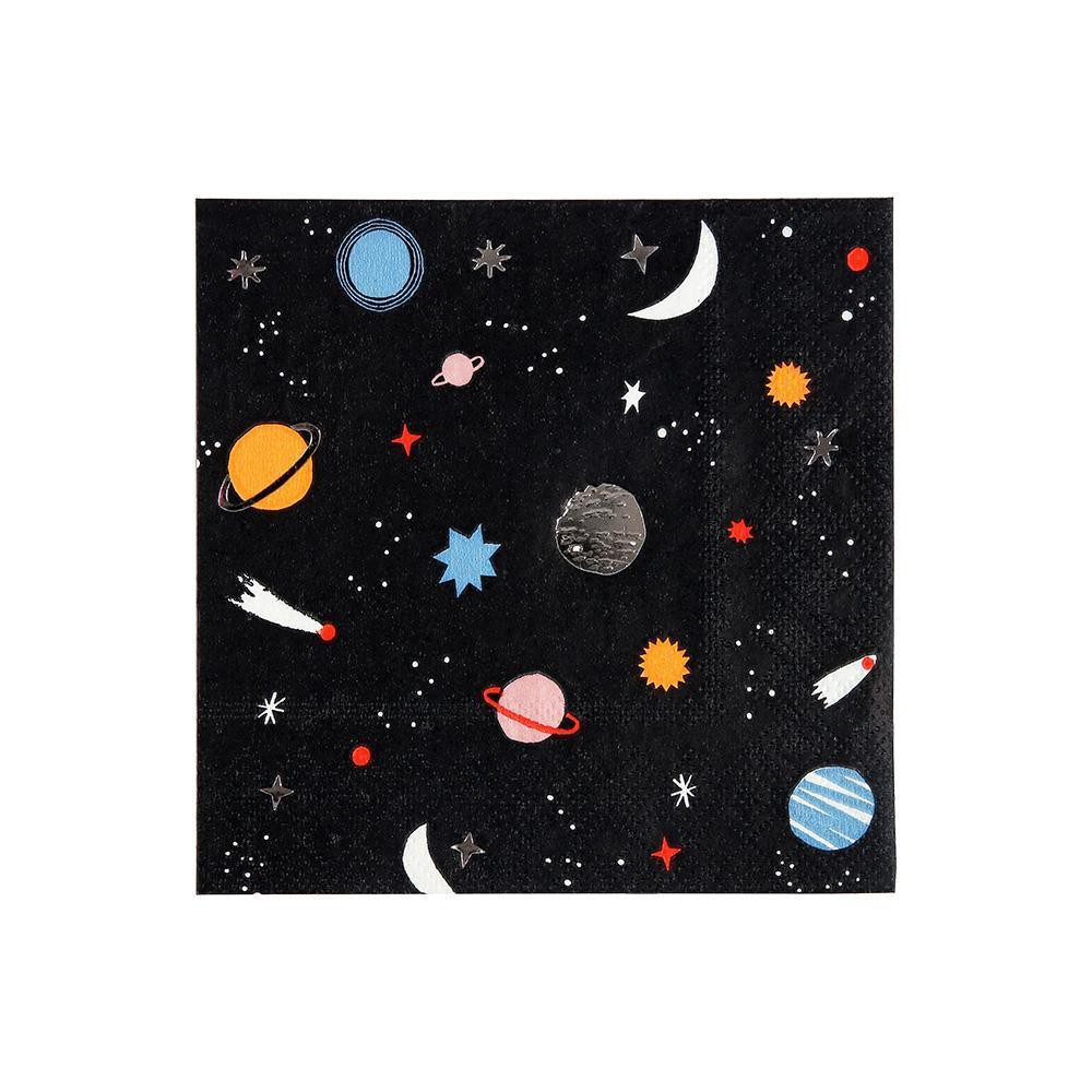 מפיות קוקטייל חלל- meri meri