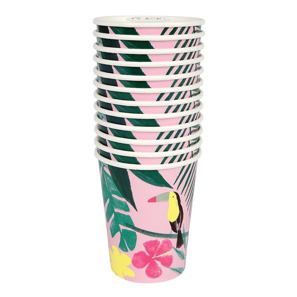 כוסות טרופי - Meri Meri