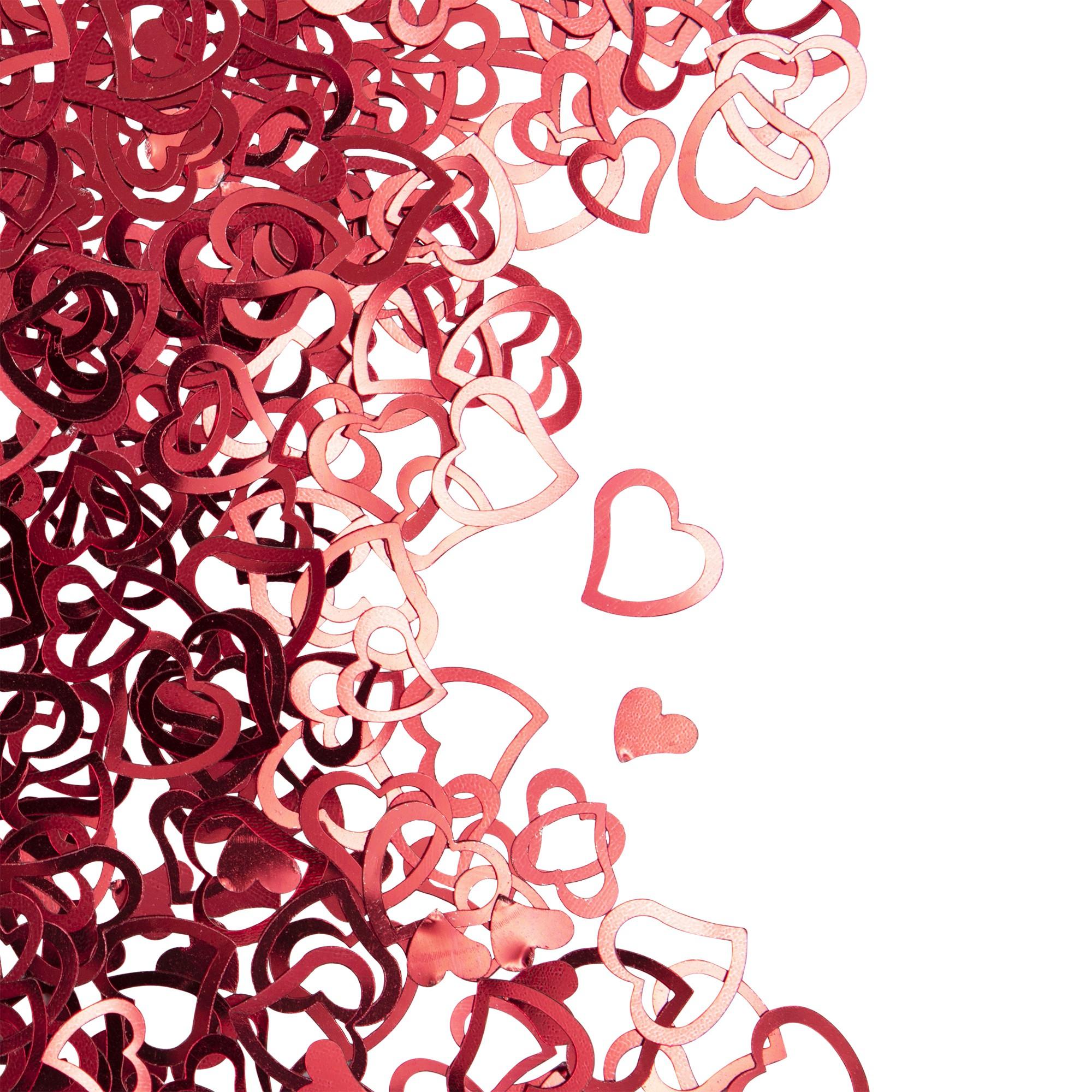 """קונפטי, לב, אדום, לבבות, לבבות אדומים, קונפטי לב אדום, קונפטי לבבות אדומים, יום האהבה, ולנטיין, ט""""ו באב, אהבה, קונפטי לבבות אדומים"""