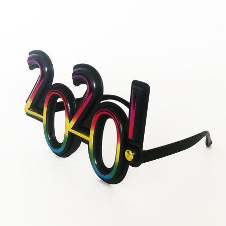 משקפיים שחורים 2020, סילבסטר, 2020, אביזרים למסיבת סילבסטר