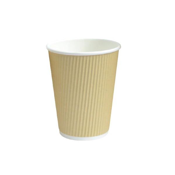 """כוס נייר טבעית 230 מ""""ל"""