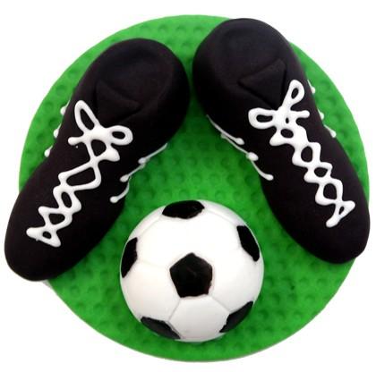 קישוט עוגה כדורגל