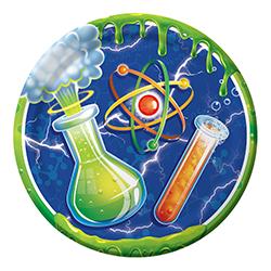 צלחות גדולות מדען