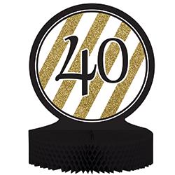 קישוט שולחן גיל 40