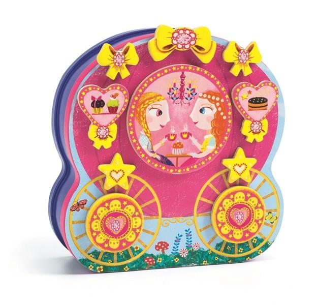 מגנטים בקופסת מתכת - נסיכות