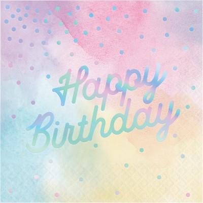 מפיות happy birthday