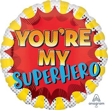 בלון הליום you're my superhero