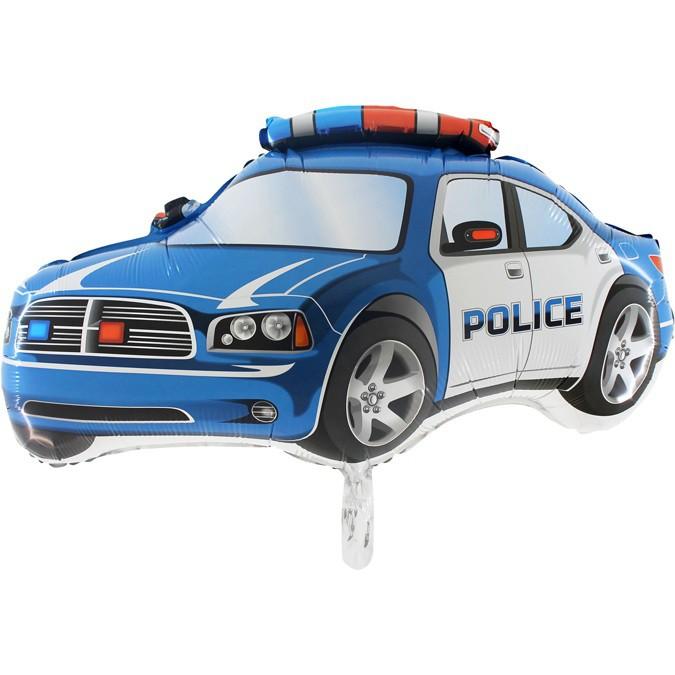 בלון הליום ניידת משטרה