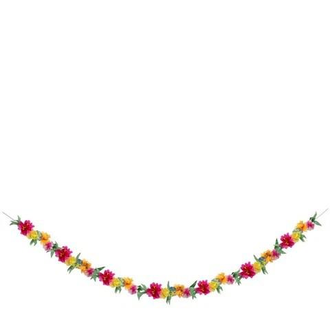 גרלינדת פרחים צבעונית - Meri Meri