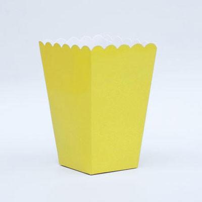 דלי פופקורן צהוב