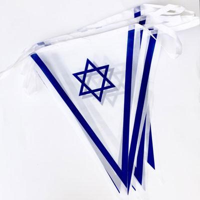שרשרת דגלים ליום העצמאות