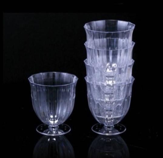 10 כוסות קינוח גביעי וינטג' על רגל