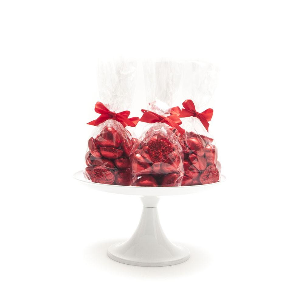 """מארז לבבות שוקולד אדומים, שוקולד, שוקולד לב, ולנטיין, ט""""ו באב, יום האהבה, עיצוב שולחן מתוק, סידור שולחן מתוק, יום האהבה"""