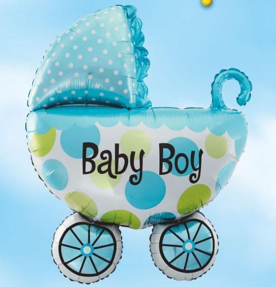 בלון עגלה Baby Boy
