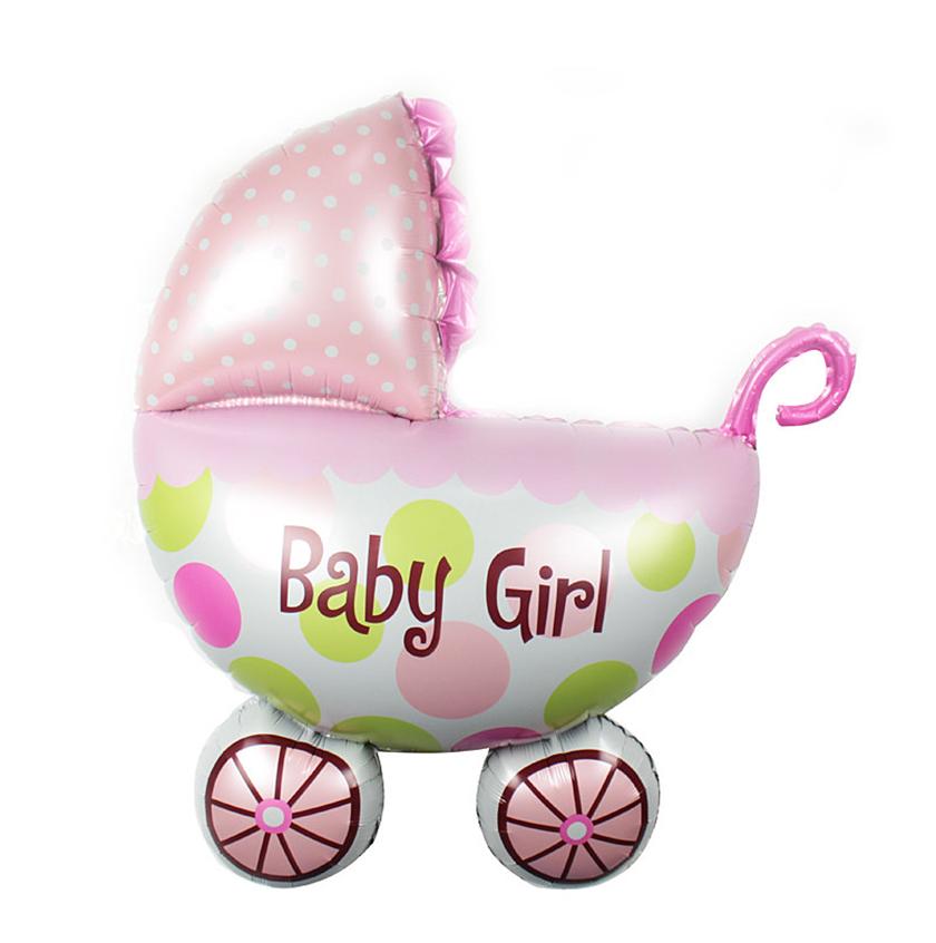 בלון עגלה להולדת בת