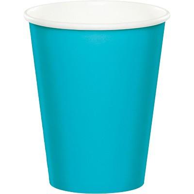 כוסות נייר כחול ברמודה