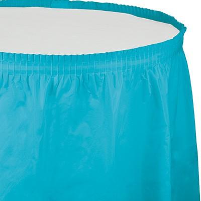 חצאית לשולחן כחול ברמודה