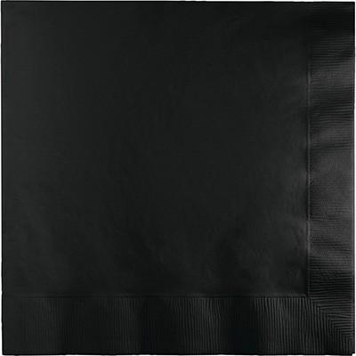 מפיות גדולות 2 שכבות שחור