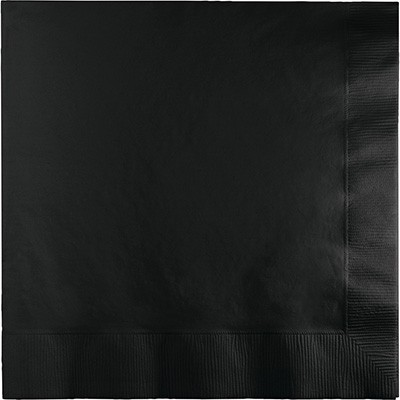 מפיות קוקטייל שחור