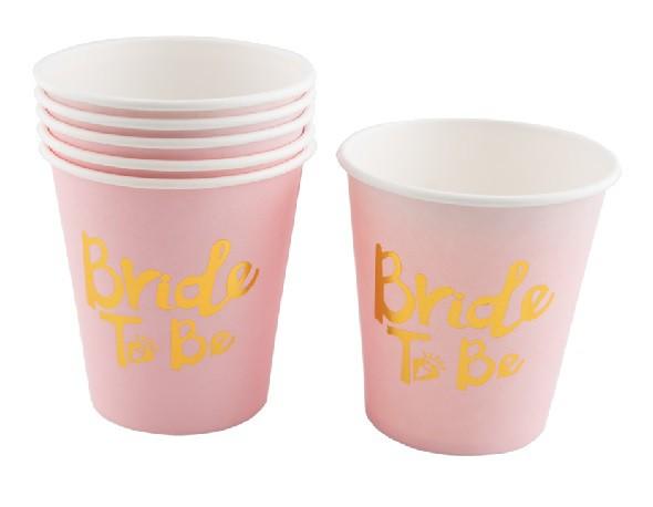 כוסות נייר Bride To be
