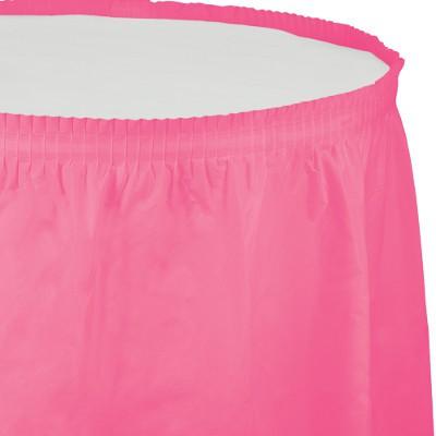חצאית לשולחן ורוד סוכריה