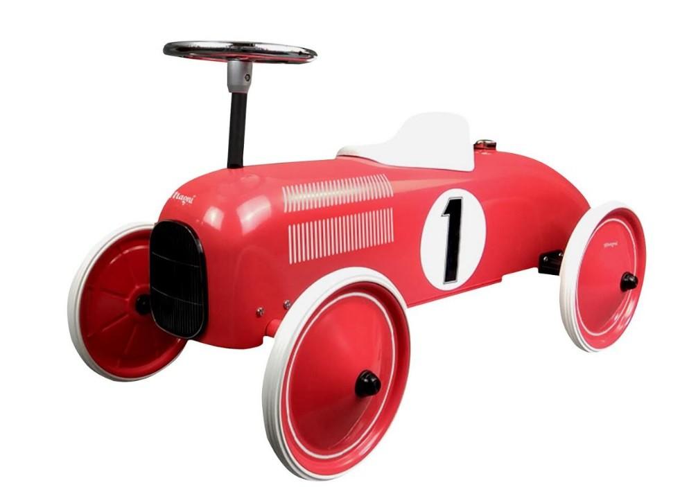 מכונית בימבה רטרו אדום