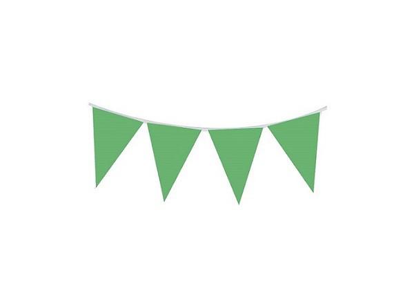 שרשרת דגלונים ירוק, שרשרת, דגל, דגלונים, זהב, קישוט, קישוטים, קישוטים למסיבה, קישוטים ליום הולדת, ירוק, דגל ירוק