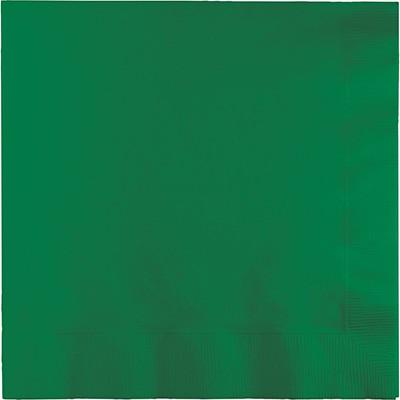 מפיות גדולות 2 שכבות ירוק אמרלד