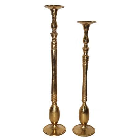 זוג פמוטים גבוהים- זהב