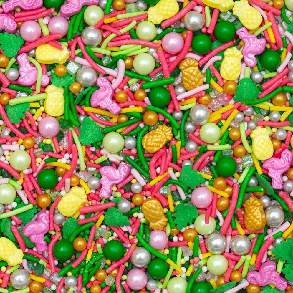סוכריות לעוגה מיקס טרופי- 120 גרם
