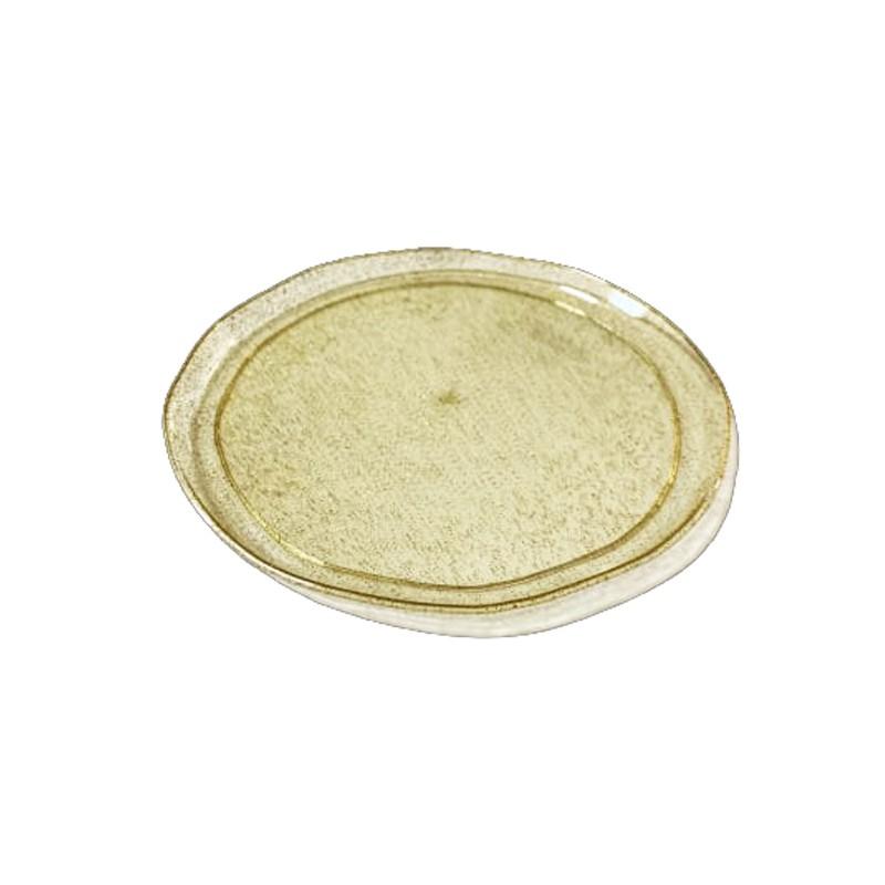 צלחות בינוניות סוהו זהב נוצץ