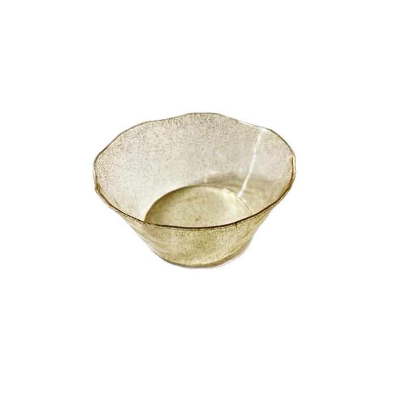 קערות מרק סוהו זהב נוצץ