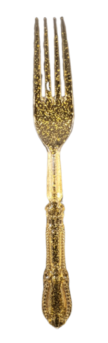 מזלג וינטג' זהב, כף, כפות, כף זהב, כפות זהב, ערב חג, ראש השנה, ארוחת ששי, עיצוב שולחן, סידור שולחן, עיצוב שולחן חג, סידור שולחן חג, זהב, מזלג נוצץ, מנצנץ