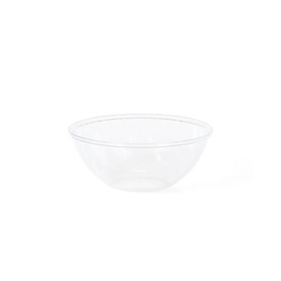 קערת פלסטיק עגולה שקופה קטנה, קערה, קערות, קערת פלסטיק