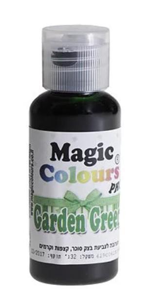 צבע מאכל ירוק גינה