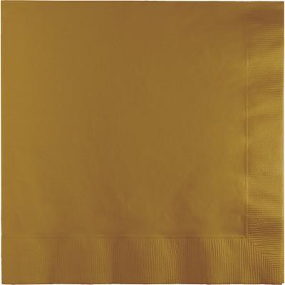 מפיות גדולות 2 שכבות זהב