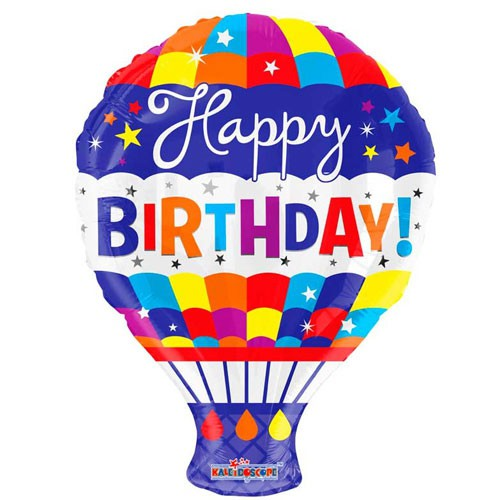 בלון כדור פורח Happy Birthday