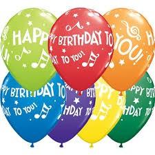 בלון גומי יום הולדת שמח