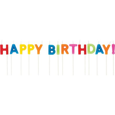 נר, נרות, נר יום הולדת, נרות יום הולדת, נרות לעוגה, נר צבעוני, נרות צבעוניים, נרות לעוגה, יום הולדת, עוגת יום הולדת, נר Happy Birthday