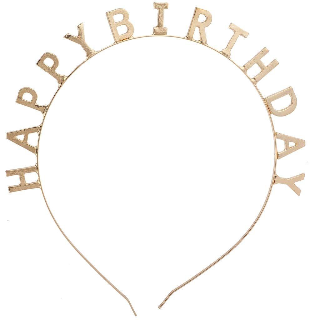 יום הולדת, קישוטים ליום הולדת, אביזרים יום הולדת, קשת לראש, כתר לראש, קישוטים, אביזרים ליום הולדת, זר, כתר יום הולדת, יום הולדת, זהב, מזל טוב