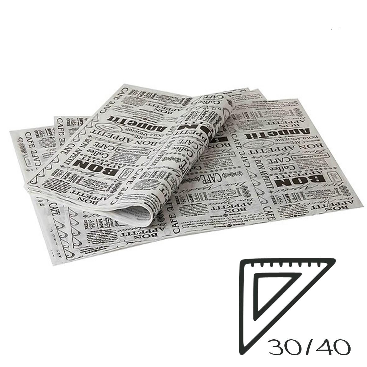 מארז נייר פרגמנט מודפס